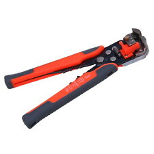 Professional Cable Wire Striper Cutter Stripper Crimper Pliers Terminal Tool Red