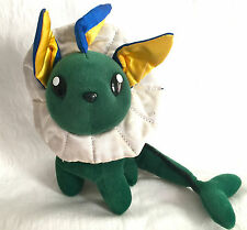 Taiwan Mirage Green Vaporeon Eevee Pokemon Soft Plush Toy Doll Figure Card Game