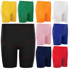 GIRL'S COTTON SUMMER SHORTS IN ASSORTED COLOR STRETCHY QUALITY FOR SCHOOL/SPORT