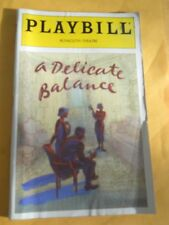 April 1998 - Plymouth Theatre Playbill w/Ticket - A Delicate Balance - Beth Hurt