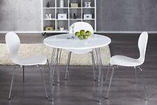 Esstisch   ARRONDI   weiss Esszimmertisch Tisch rund Küchentisch