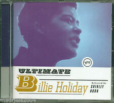 Billie Holiday. Ultimate (1997) CD NUOVO SIG Lady Sings the Blues. Body and Soul
