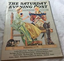 1975 Bicentennial Salute Sears & Roebuck  Saturday Evening Post Magazine