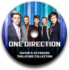 ONE DIRECTION POP ROCK GUITAR TABS TABLATURE SONG BOOK SOFTWARE CD