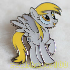 Derpy Hooves My Little Pony Brony Bronie Metal Lapel Pin Badge