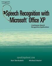Speech Recognition with Microsoft Office XP