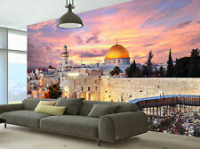 Jerusalem Old City  Wall Mural Wallpaper GIANT WALL DECOR PAPER POSTER FREE GLUE