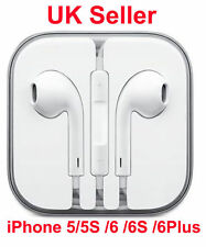 Nuevo Auricular Para Apple iPhone 6/6 Plus/5/5 Earpod Auriculares con micrófono-Reino Unido Selle