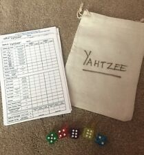 Yahtzee Dice And Score Cards Stocking Filler