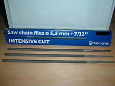 HUSQVARNA INTENSE CUT 5.5MM 7/32 ROUND FILES (PACK OF 3)