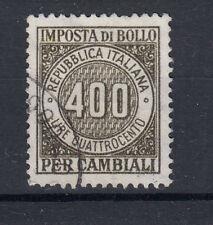 1963-83 MARCHE DA BOLLO CAMBIALI 500 LIRE USATA