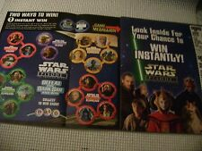STAR WARS 1999 ad DEFEAT THE DARK SIDE Pizza Hut KFC Taco Bell game pages advert