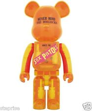 BE@RBRICK Sex Pistols is re-released in clear version!1000%  by Medicom Toy NIB