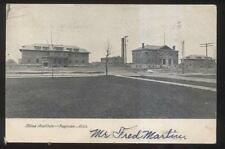 POSTCARD SAGINAW MI/MICHIGAN HOME FOR THE BLIND CAMPUS BUILDING 1907