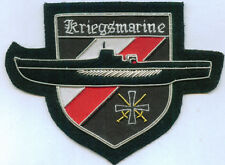 German Kriegsmarine Uboat U Boat Sub Wolf Pack Sea Battle Cross Black War Patch