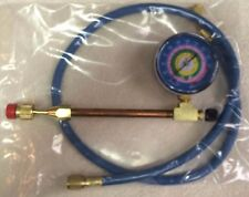 """Envirosafe Refrigerant Gauge, With 36"""" Charging Hose, 30 Lb Cans Of R290a, R22a"""