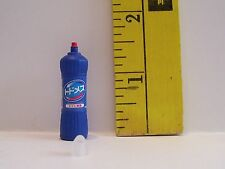 RE-MENT DOLL MINIATURE 1/6 LITTLES BLUE BOTTLE OF CLEANER ACCESSORY LOT RETIRED
