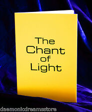THE CHANT OF LIGHT.  Finbarr Occult  Magick. Grimoire. Witchcraft. White Magic
