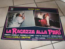 LA RAGAZZA ALLA PARI,GLORIA GUIDA,SEXY,FOTOBUSTA N1