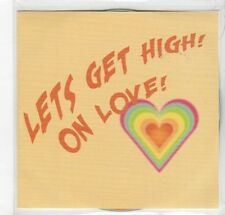 (GC978) Edward Sharpe And The Magnetic Zeros, Lets Get High On Love!- 2013 DJ CD