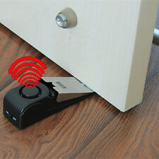 Portable Door Stop Alarm Home Travel Security System Safety Wedge Alert Wireless