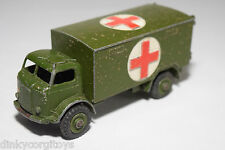 DINKY TOYS 626 MILITARY ARMY BEDFORD AMBULANCE WAGON TRUCK EXCELLENT CONDITION