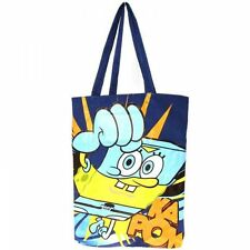 "SPONGEBOB SQUAREPANTS ""SUPER SPUGNA"" Tote Shopper Shopping shoulder bag"
