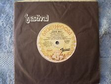 """THE FERRETS-JANIE MAY/JUST LIKE THE STARS """"RARE OZ"""" 45 RPM"""