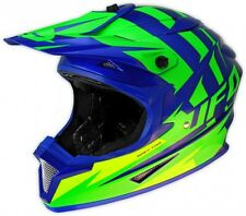 UFO Spectra Solidus Motocross MX Enduro Helmet- Medium 57-58cm Blue Flou Green