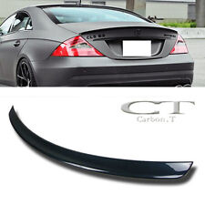 Painted Color Fit Mercedes Benz W219 Sedan CLS Class AMG Style Trunk Spoiler