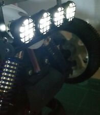 1/10 1/8 RC Coche Buggy camión Conjunto De Luces Led Blanco brillante 5 modos