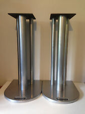 Atacama Nexus 5i Speaker Stands 500mm/50cm Height Silver Finish