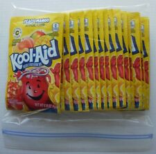 20 packets of KOOL-AID drink mix: PEACH MANGO flavor, powdered, UNSWEETENED