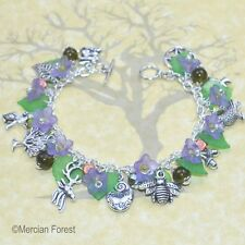Natures Own Woodland Charm Pagan Bracelet - Wicca, Witch, Summer Jewellery