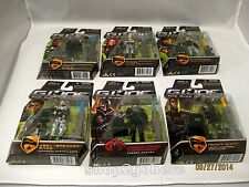 G.I. JOE Rise OF Cobra Hasbro Action Figures Collection2 Wave1 Lot of 6 Mint Box