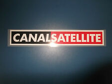 sponsor CANAL SATELLITE serie A maglia juventus kappa nuovo new termoapplicabile