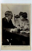 (Gi344-376) Real Photo of Theatre Star, George Alexander 1906 VG, Beagles G 30 S