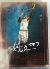 2015-16 Panini Luxe Ruby Red Frame JARED SULLINGER Autograped /25