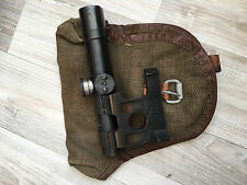 Original Russian Mosin-Nagant 91/30 PU (SVT) Sniper Scope 1941 WWII + MOUNT+BAG