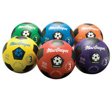 MacGregor® Multicolor Soccer Balls Size 3 - Rainbow Pack of 6