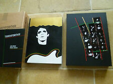 LOU REED TRANSFORMER DELUXE GENESIS PUBLICATIONS BOOK Velvet Underground M Rock