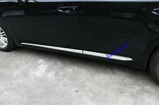 Chrome Side Door body Molding Trim strip sill For Lexus ES350 ES300 2013-2017