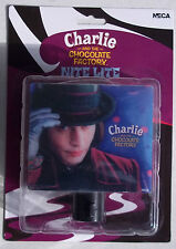 JOHNNY DEPP. CHARLIE AND THE CHOCOLATE FACTORY MOVIE NITE LIGHT. NEW ON CARD.