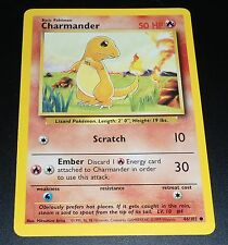 Charmander 46/102 Base Set  Common NEAR MINT Pokemon Card