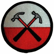 PINK FLOYD - HAMMERS - EMBROIDERED PATCH - BRAND NEW - MUSIC BAND 0537