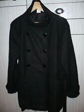 Manteau femme, noir, taille 42/44