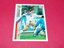 ANDREI KANTCHELSKIS RUSSIE FIFA WC FOOTBALL CARD UPPER USA 94 PANINI 1994 WM94