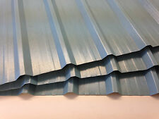 Metal Cladding sheets, Wedgewood Blue, 0.7mm Plastisol coated *UK MADE*