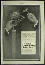 Valet AutoStrop Safety Razor Shaving 1918 1 Page Advert