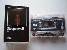 "Cassette Tape STEPPENWOLF ""Gold Greatest Hits"" MCA 11 tracks Dolby Stereo HX Pro"